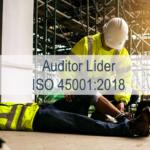 Formación de auditores líderes de Sistemas de Gestión de la Salud y Seguridad del trabajo  ISO 45001:2018