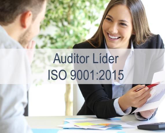 Formación de auditores líderes de Sistemas de Gestión de la Calidad ISO 9001:2015